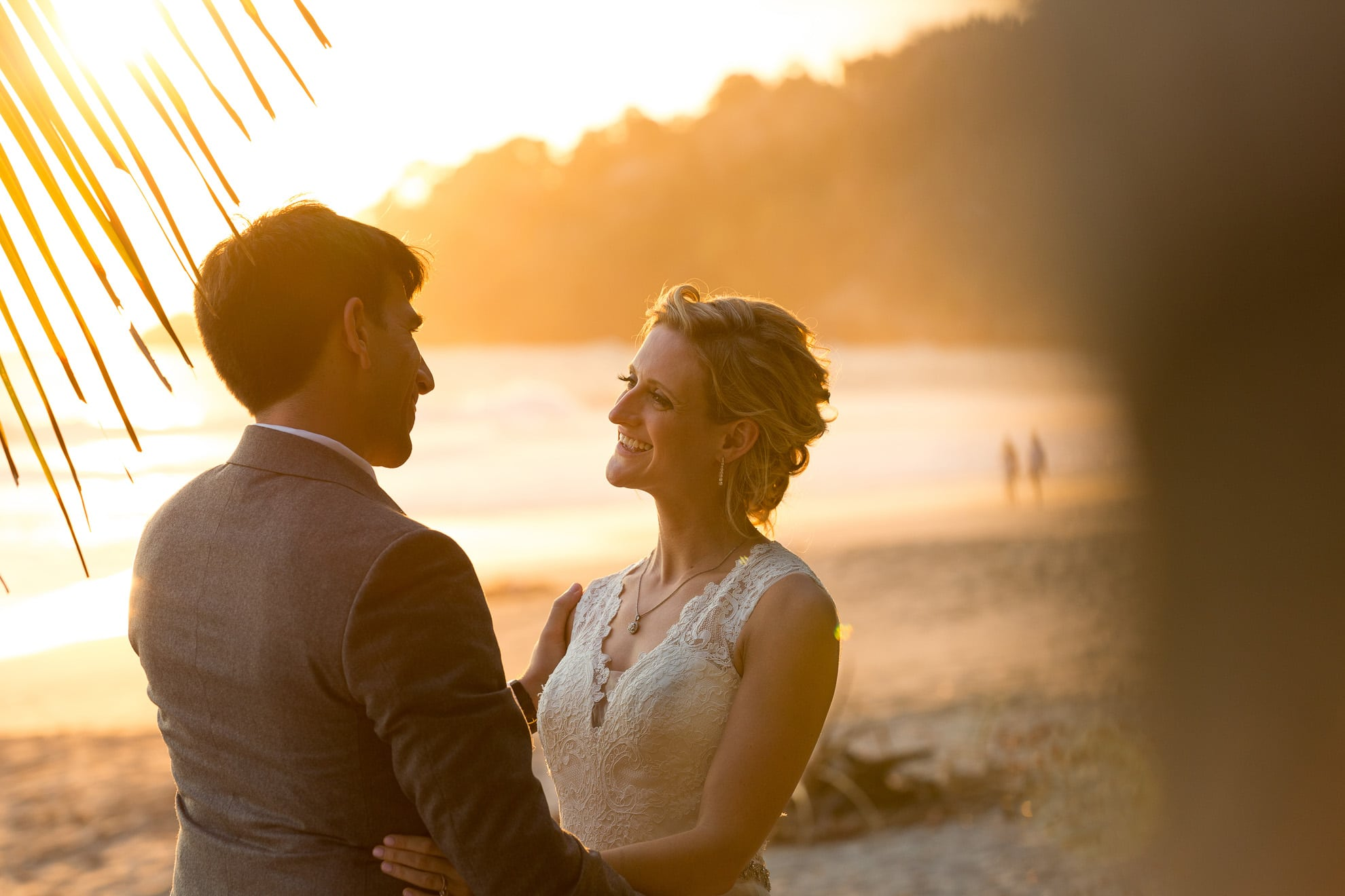 married under the palms of costa rica