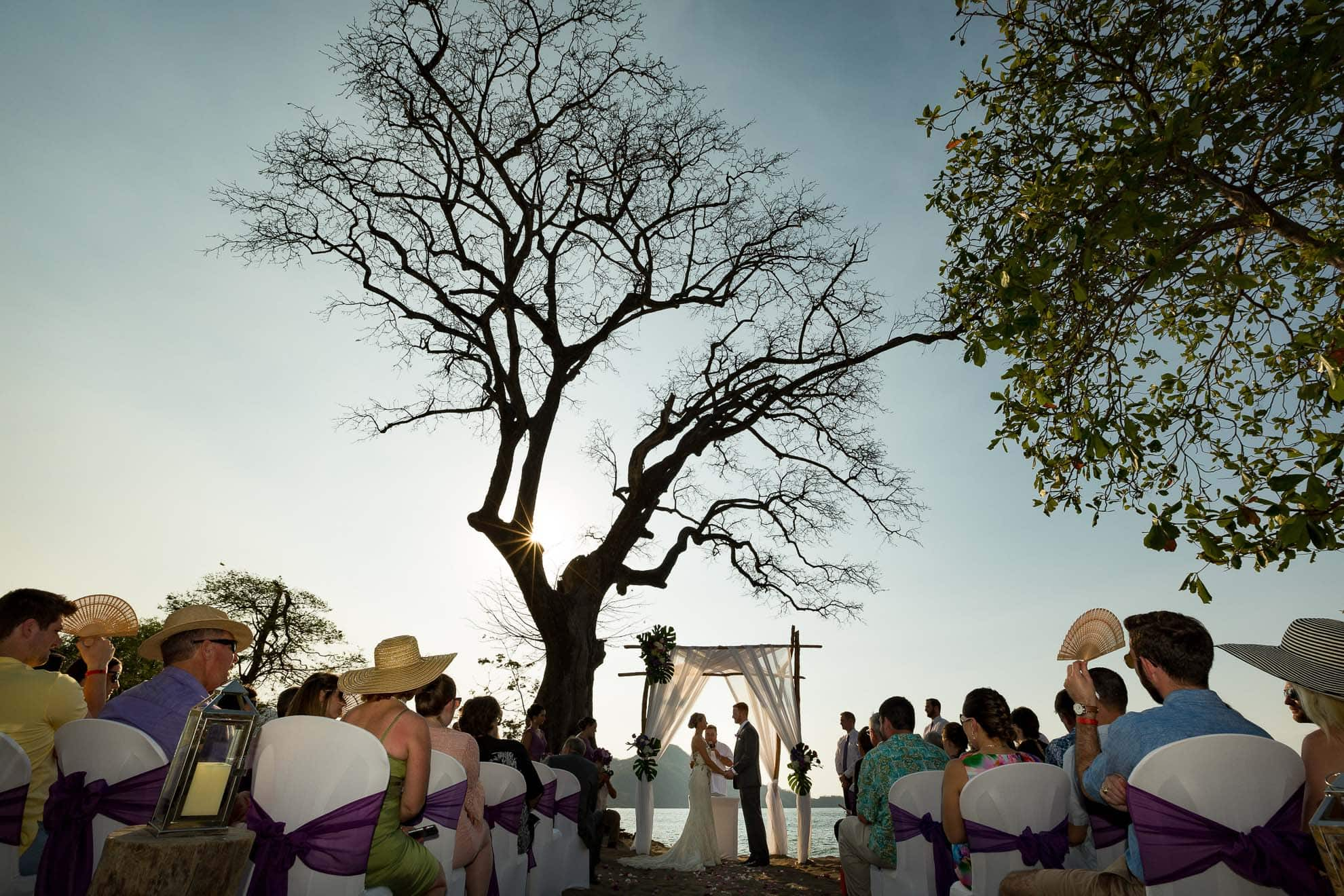 ceremony of destination wedding hotel riu palace
