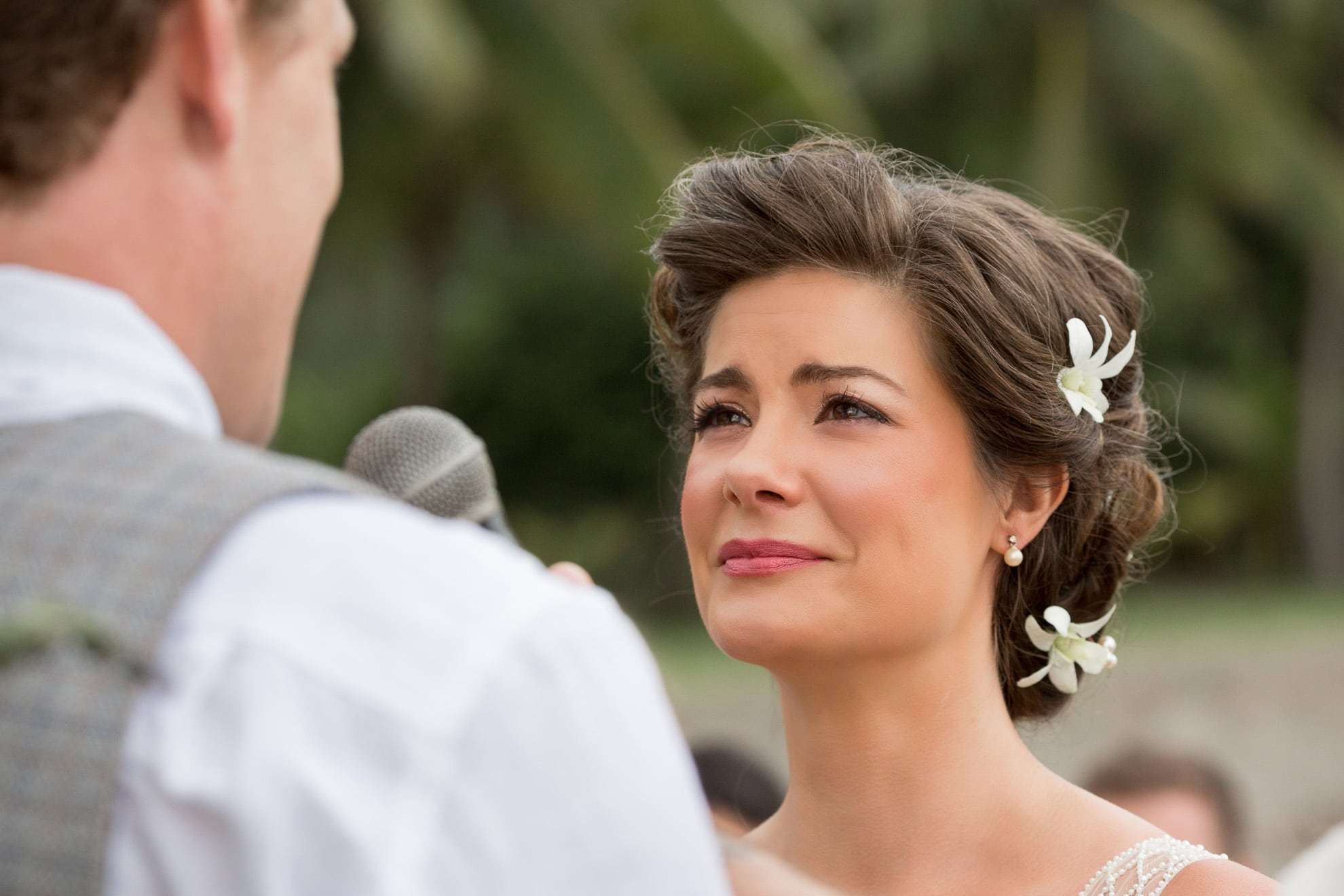 emotional bride destination wedding costa rica