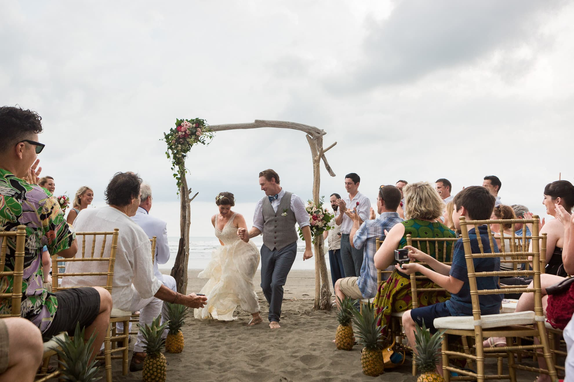 One of the best Jaco beaches in Costa Rica for a wedding!