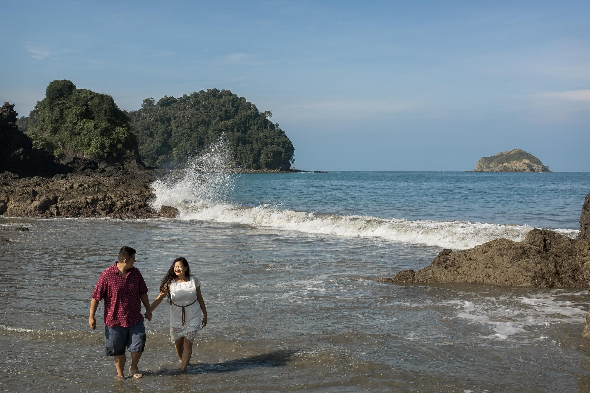 day after session Costa Rica Destination Wedding at Costa Verde
