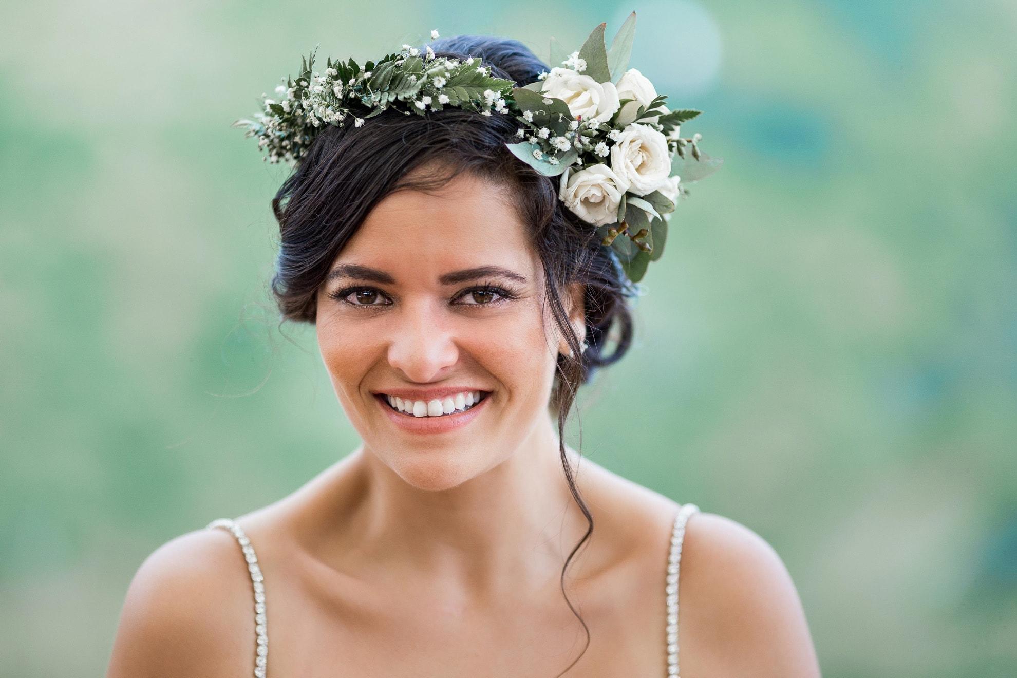 teary eyed bride La Mariposa Destination Wedding