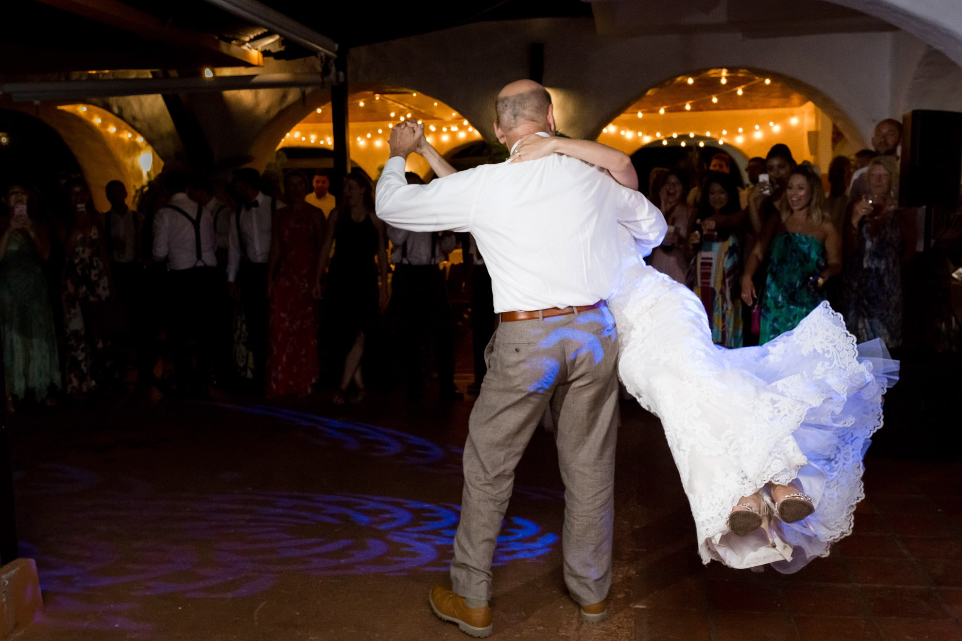 father daughter dance La Mariposa Destination Wedding