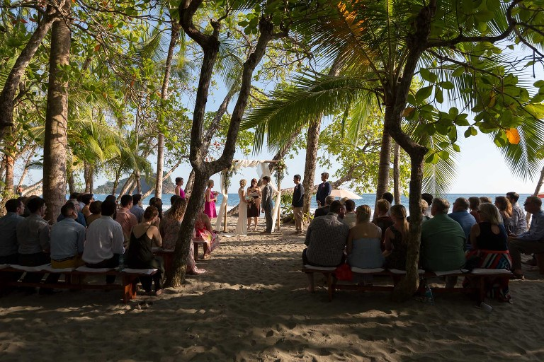 Gaia Beach Wedding Ceremony