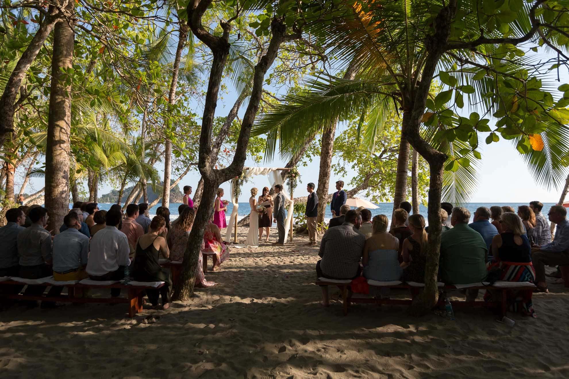 Gaia Beach Wedding Ceremony