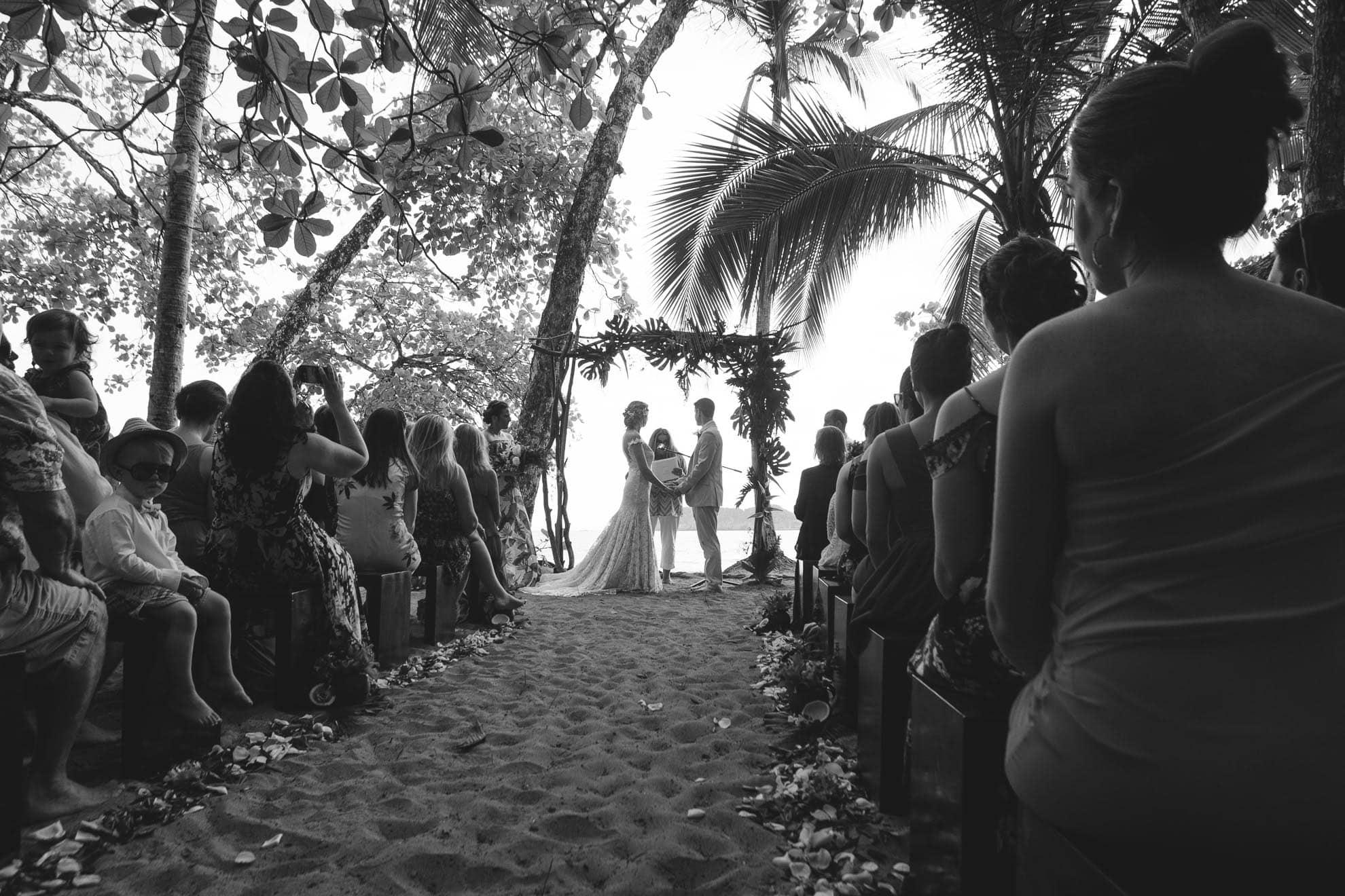 Manuel Antonio beach ceremony