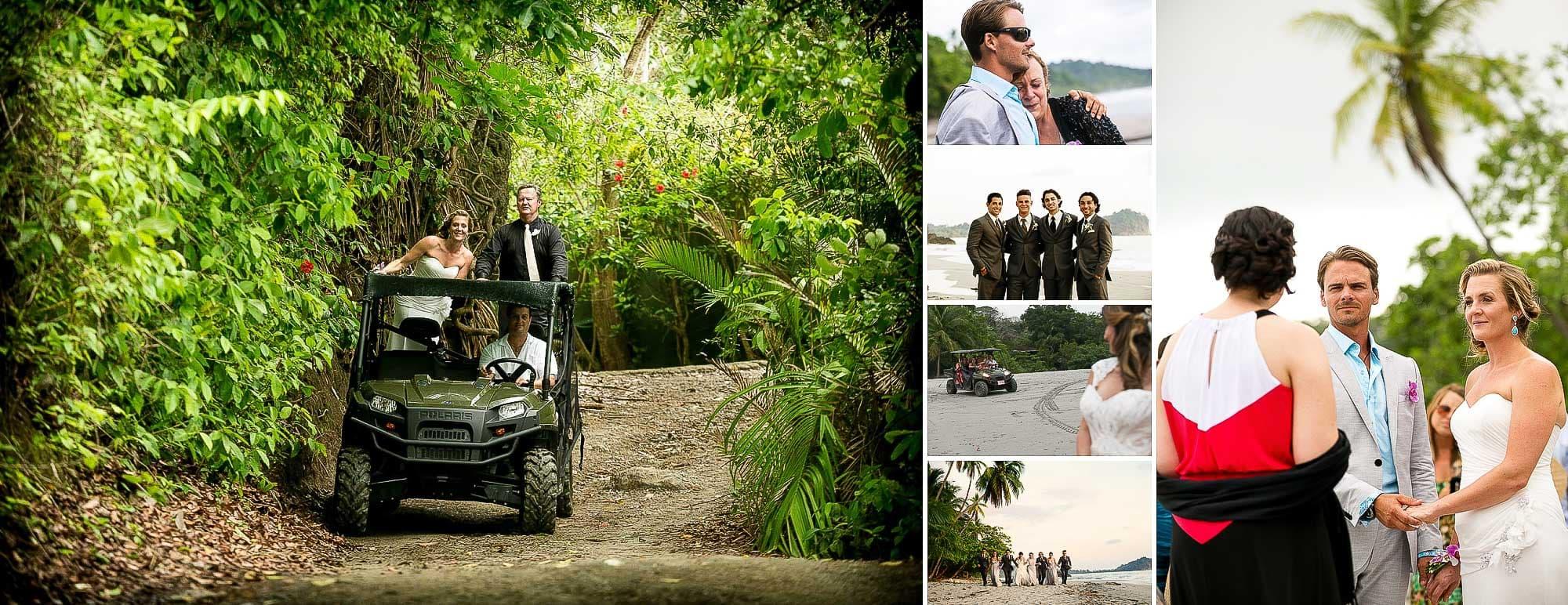 Weddings in Costa Rica: Polaris in Punto de Vista