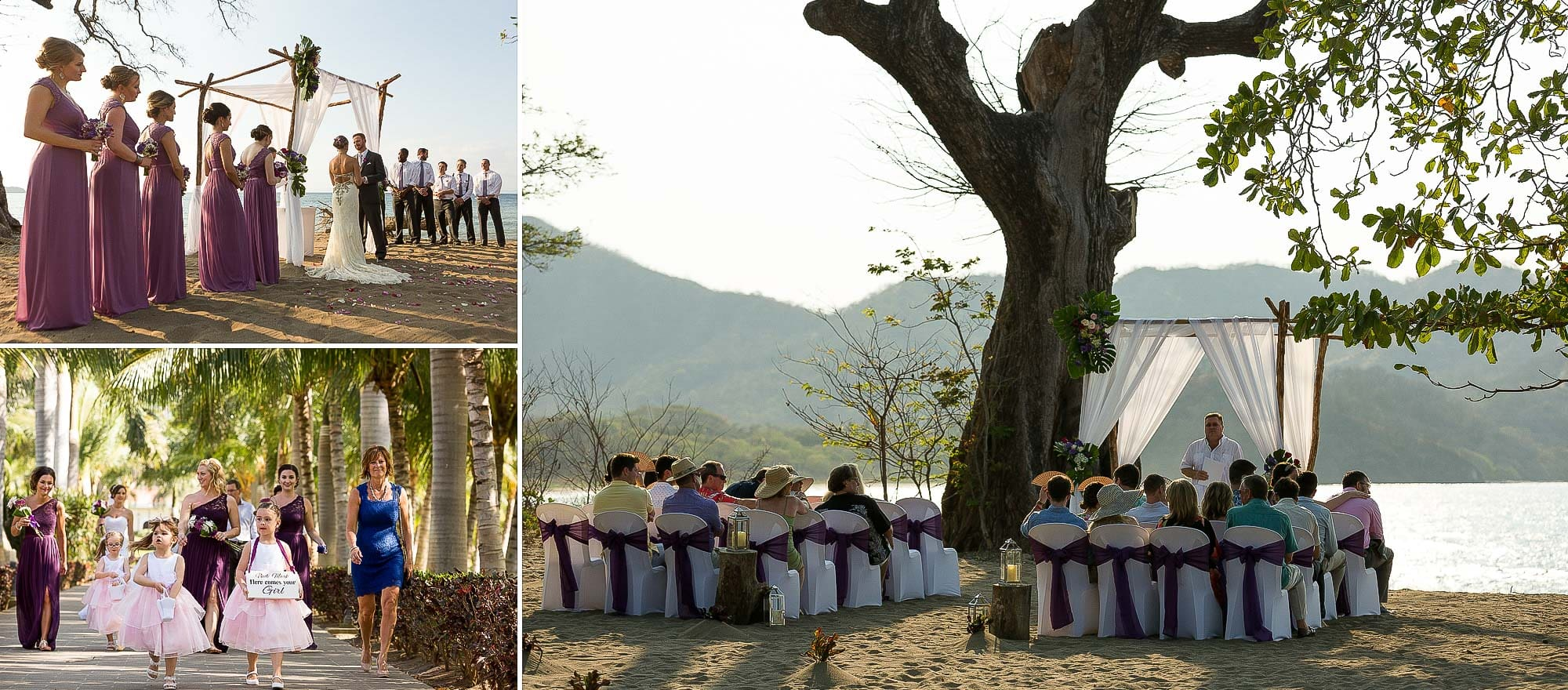 riu guanacaste beach wedding