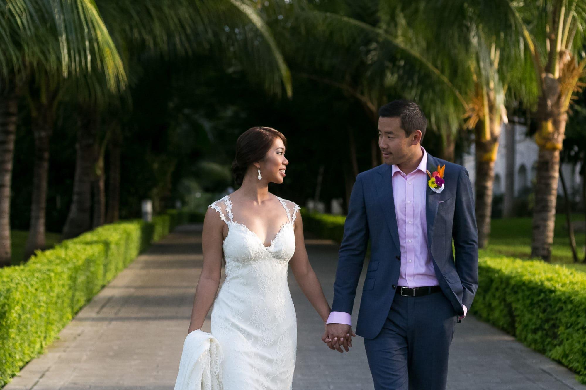 wedding in riu costa rica