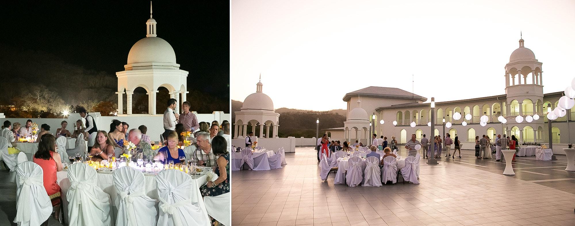 wedding on terrace in riu palace costa rica