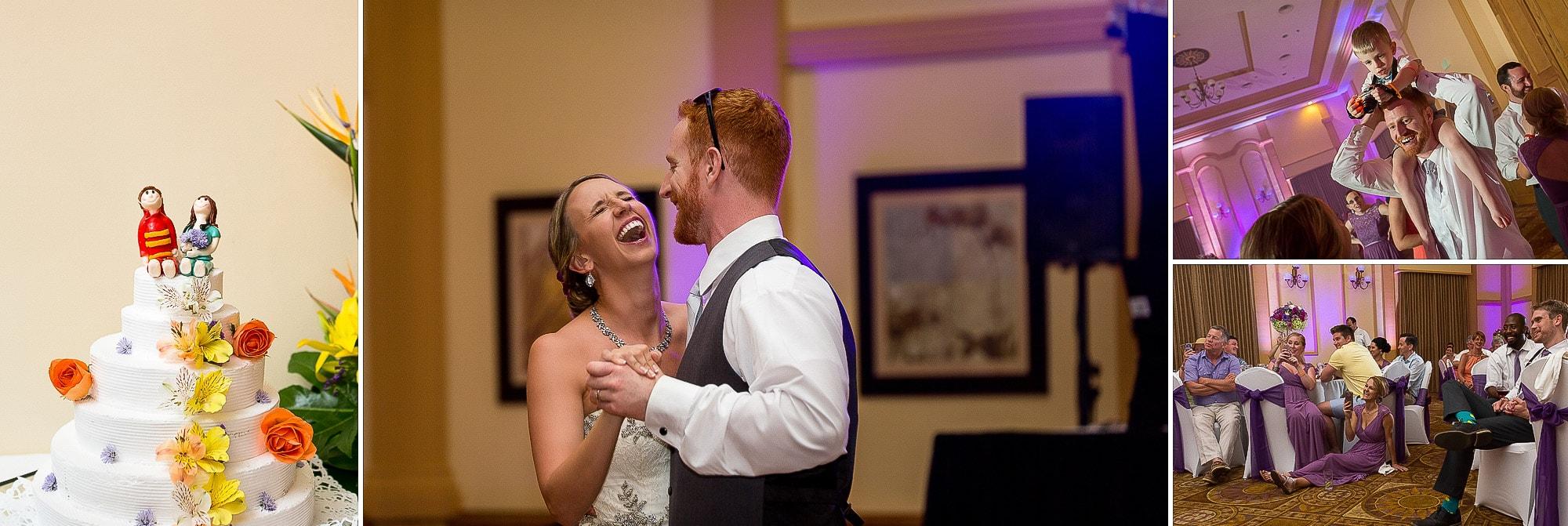 wedding reception at riu palace costa rica