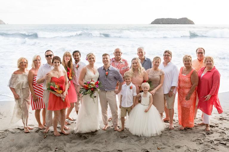 Beach Wedding Costa Rica