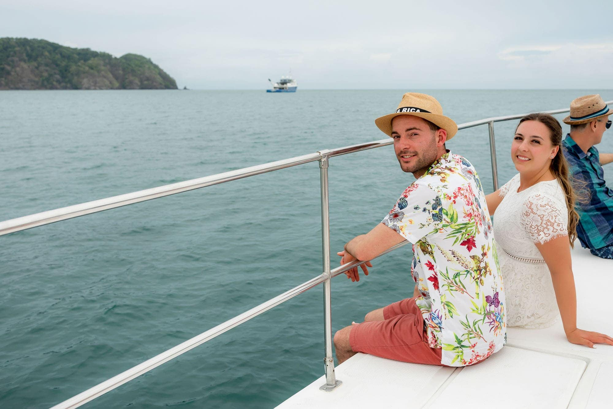 catamaran ride in costa rica