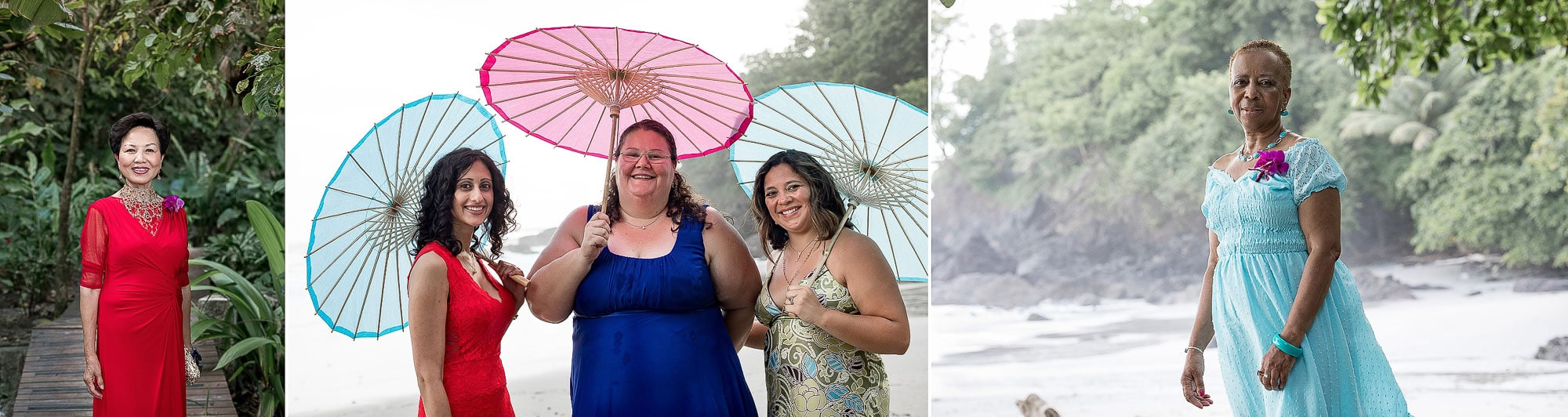 Lovely ladies with their parasols!