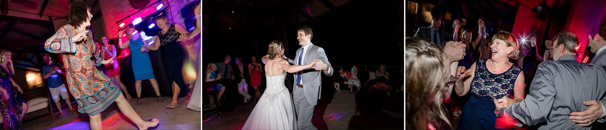 Having fun on the dance floor!