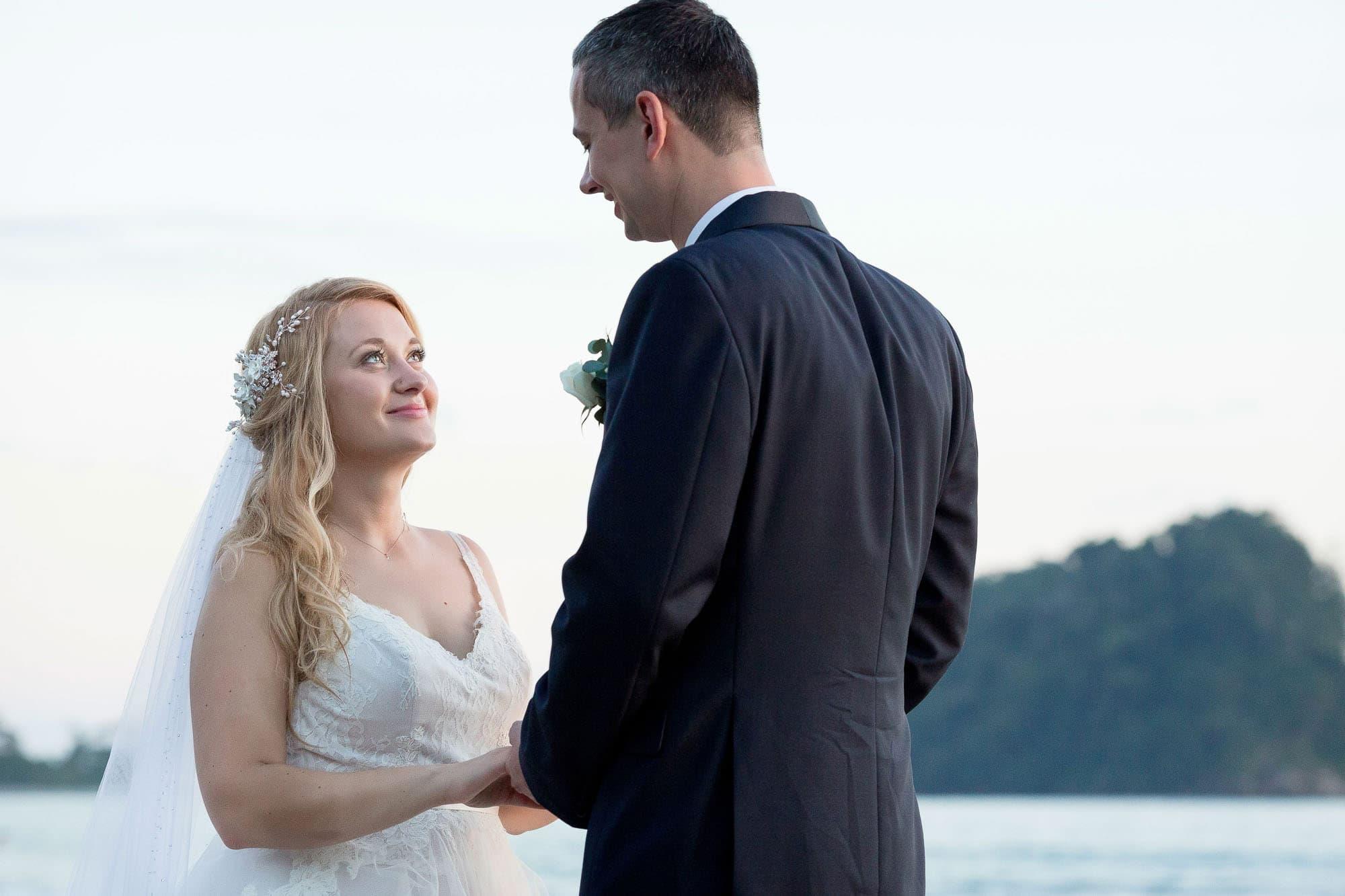 Traditional wedding portrait time!