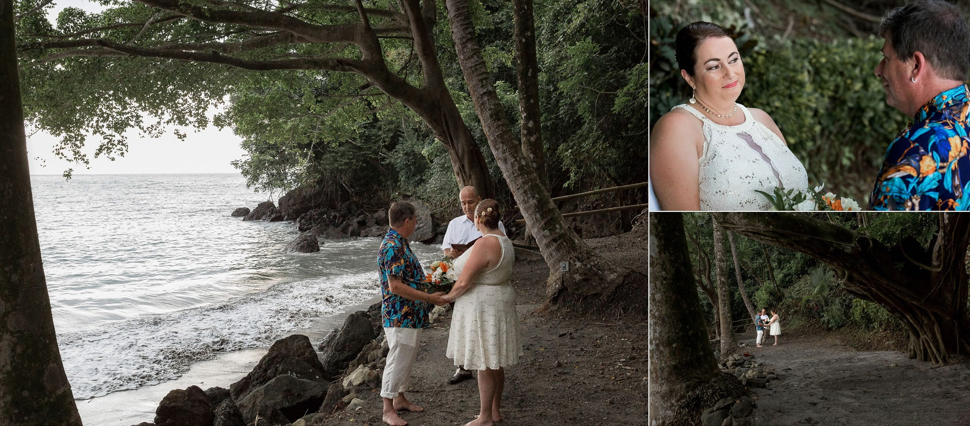 Elopement ceremony shots
