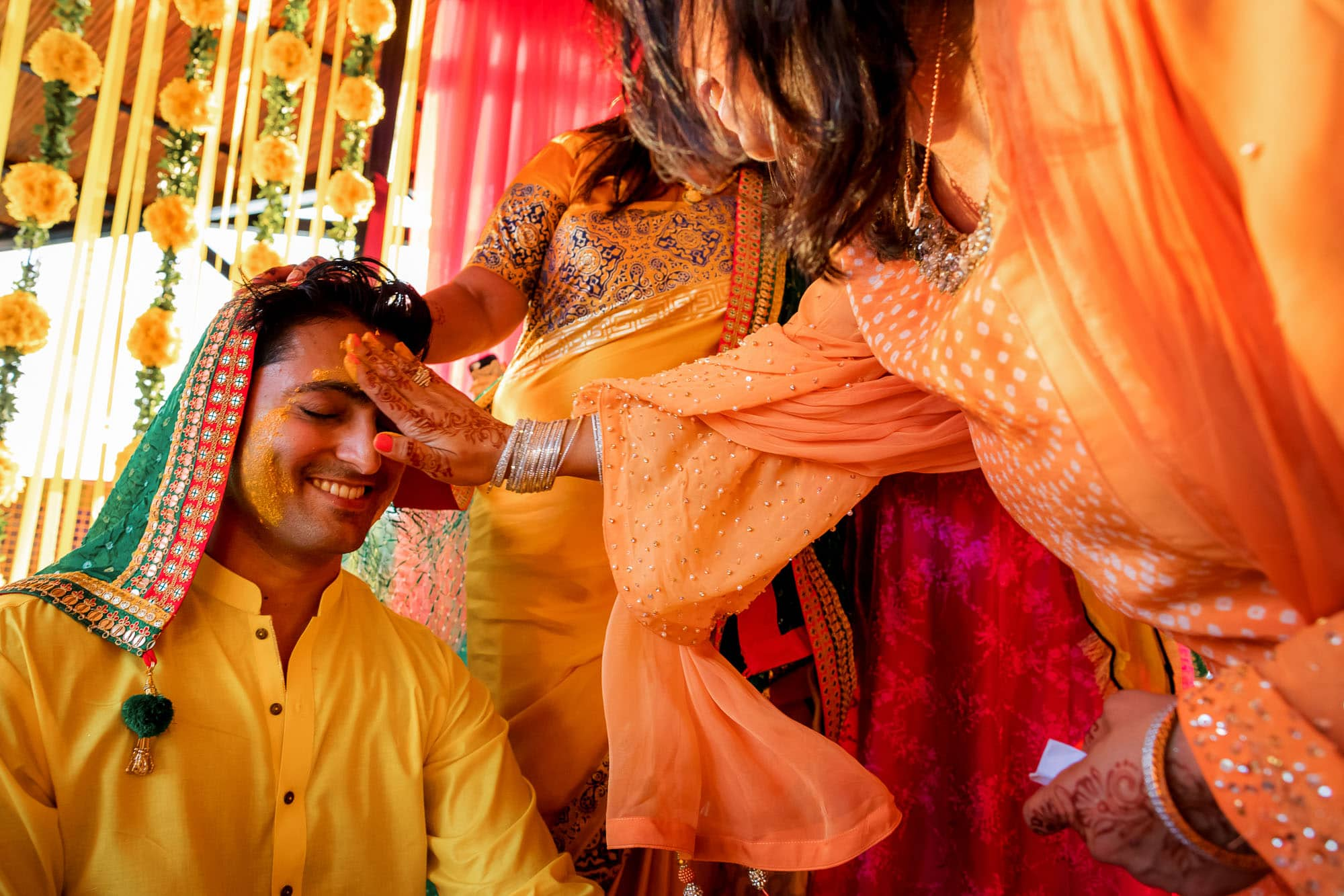 Pithi ceremony for the groom