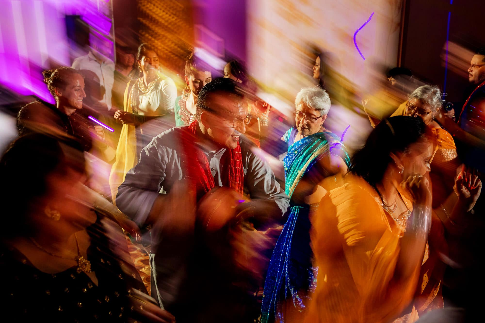 More fun and dancing the second night at this traditional Hindu Muslim wedding!