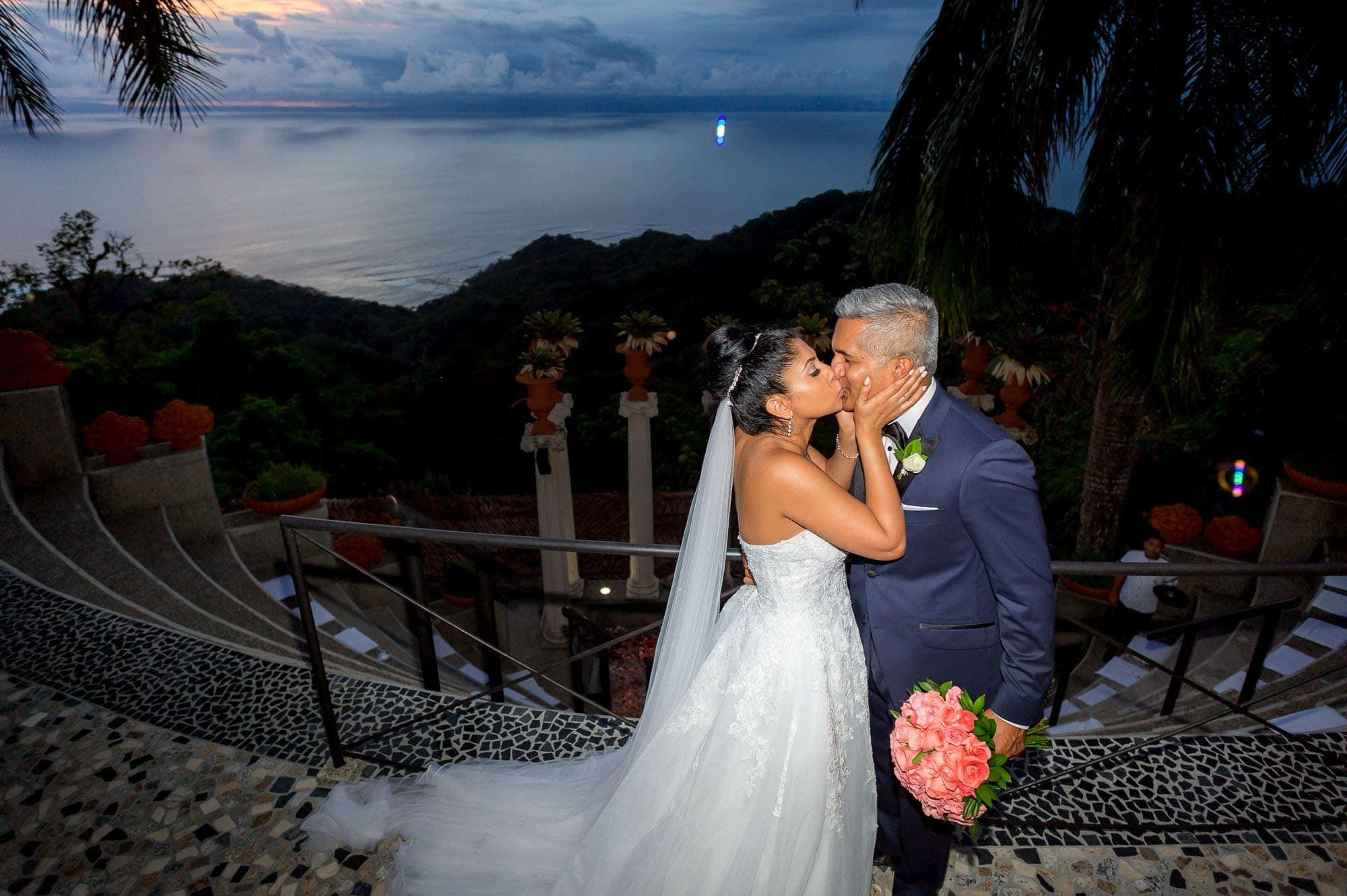Bridal shots after the symbolic wedding ceremony