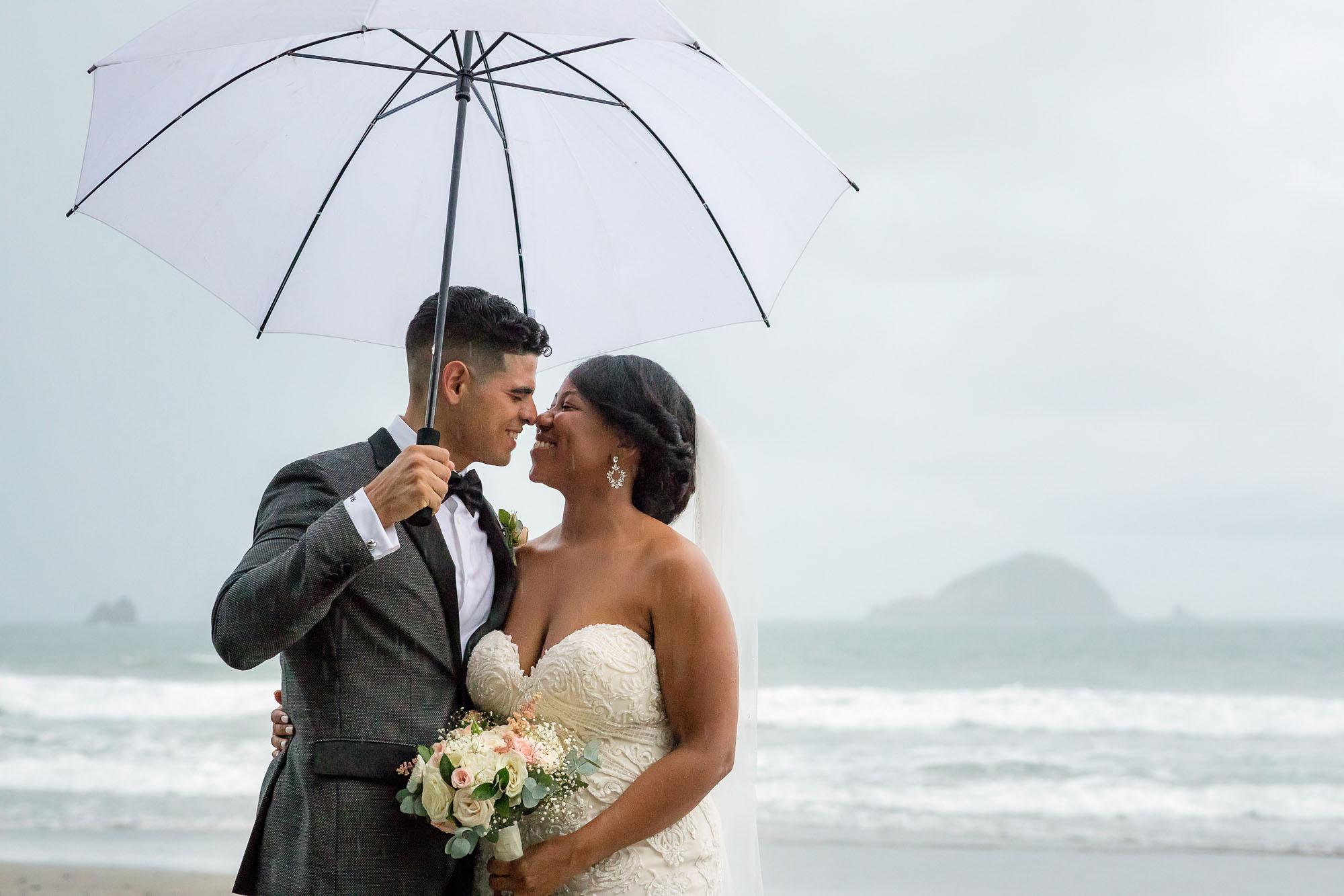 Couple on the beach: a timeless wedding venue idea