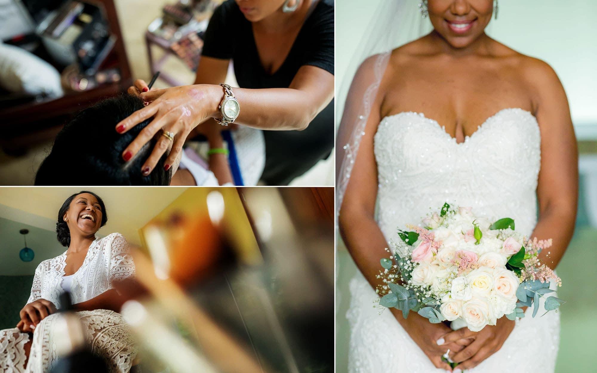The bride: detail shots