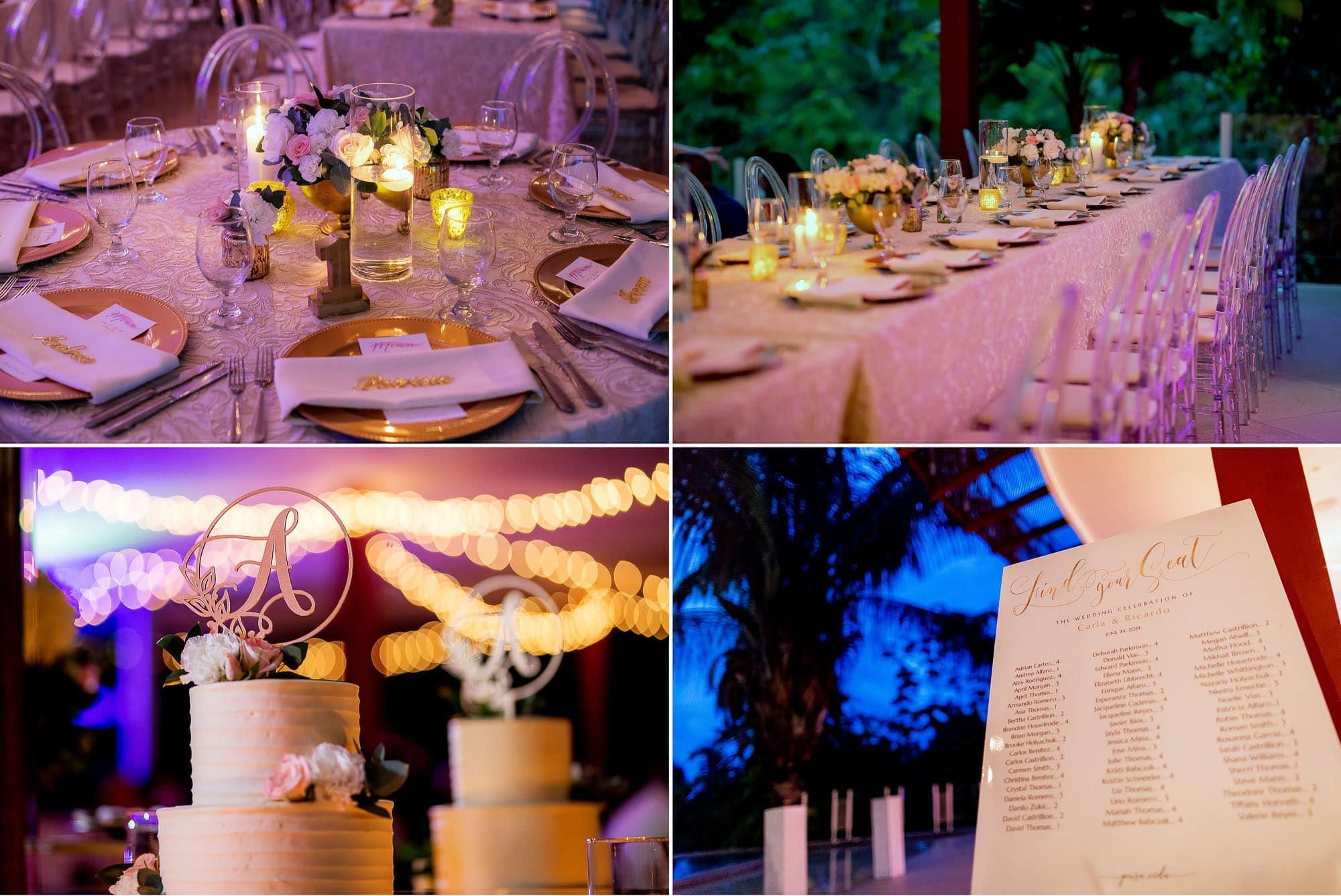 Wedding venue ideas: closeups on the details