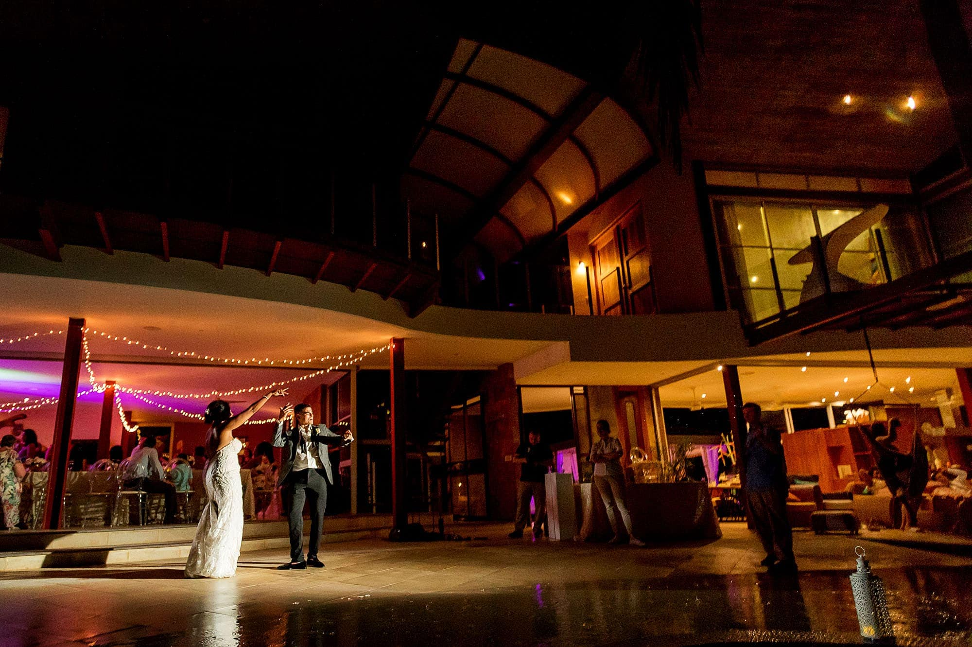 Wedding venue ideas: Check out this epic scene of the bride and groom