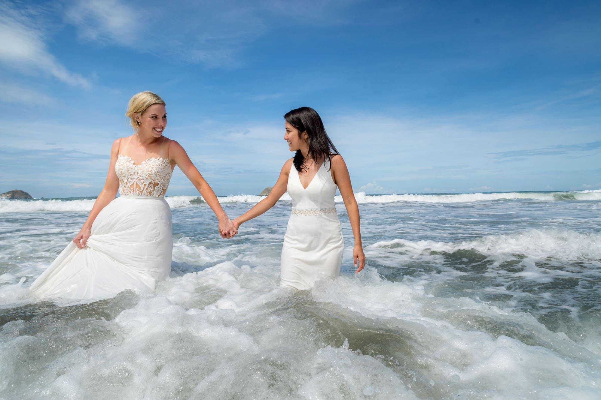 Two brides in Costa Rica