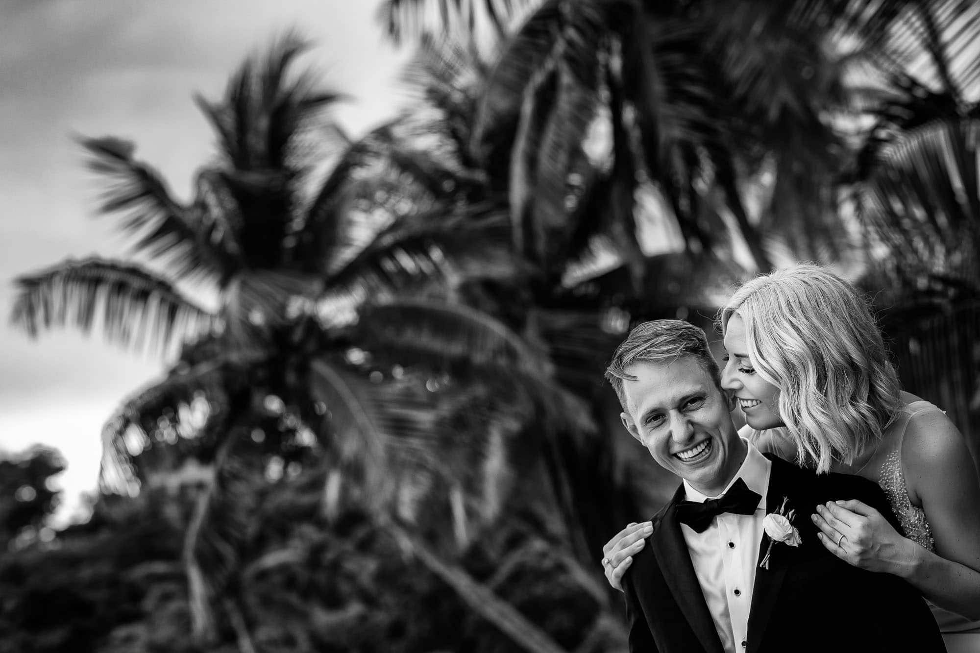 Unique wedding bridal portraits on the beach