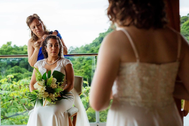 Getting ready for the dream destination wedding