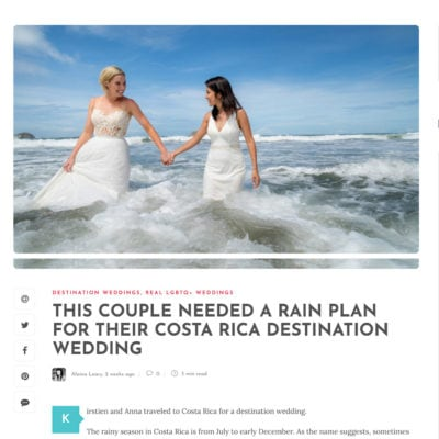 same sex wedding costa rica