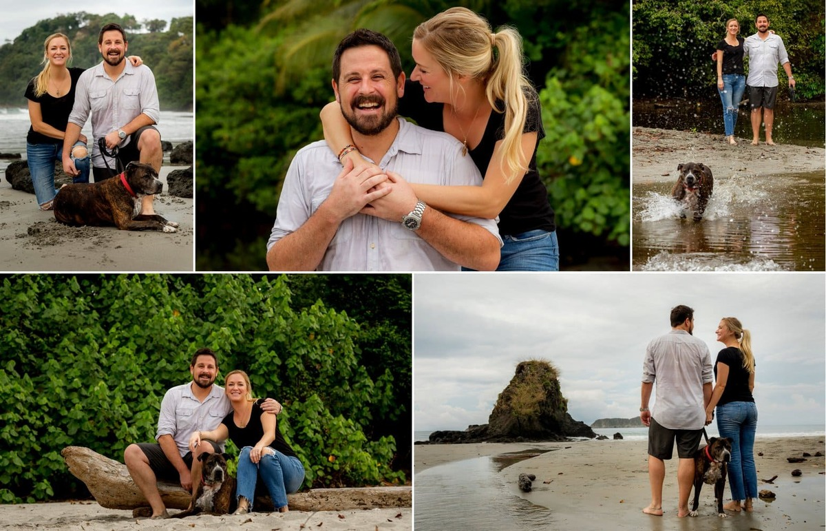 Digital files from portrait session
