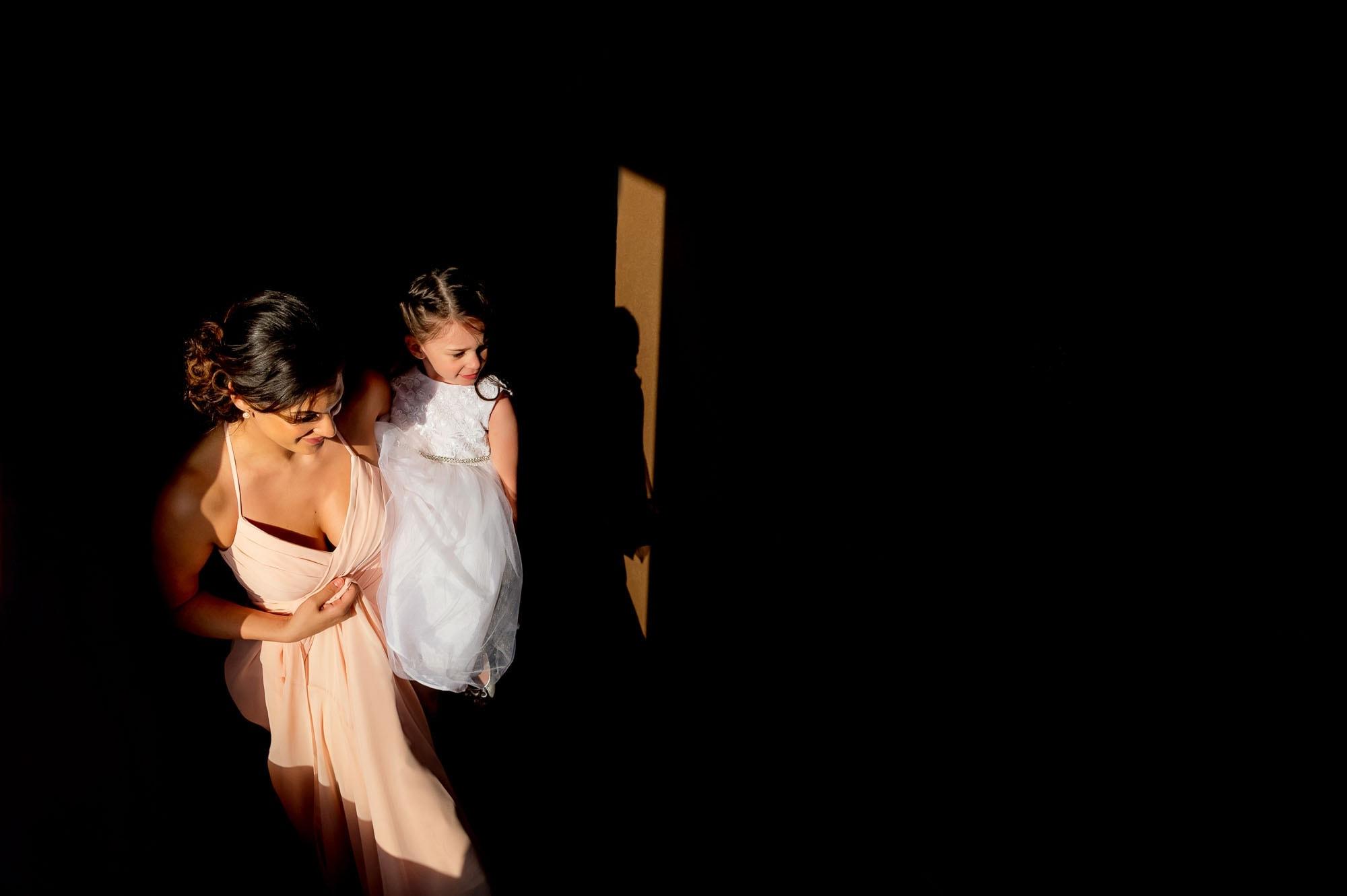 contrast light wedding