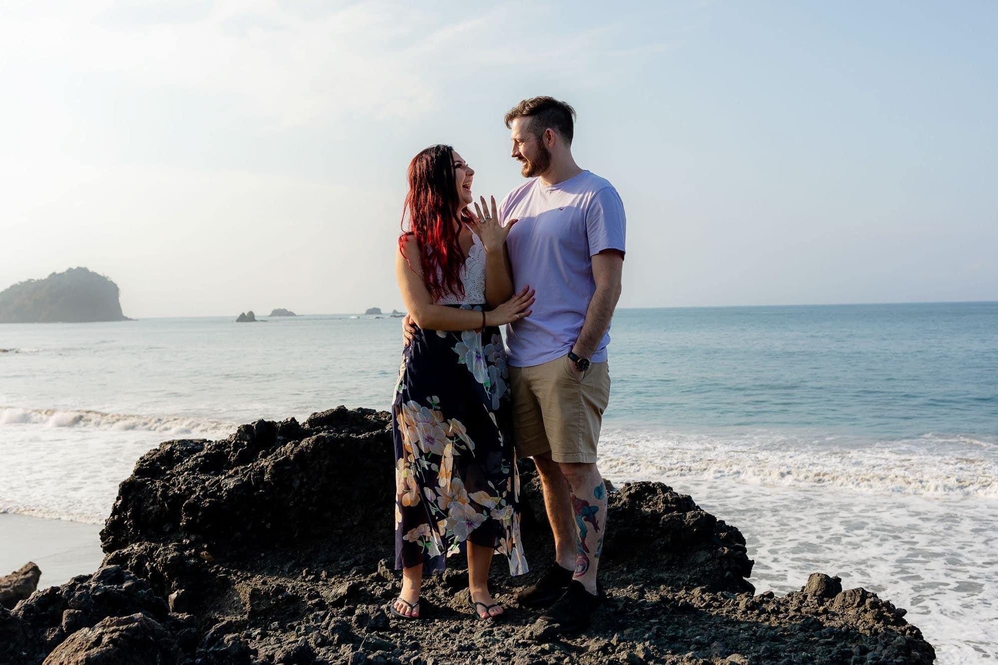 Engagement photos costa rica