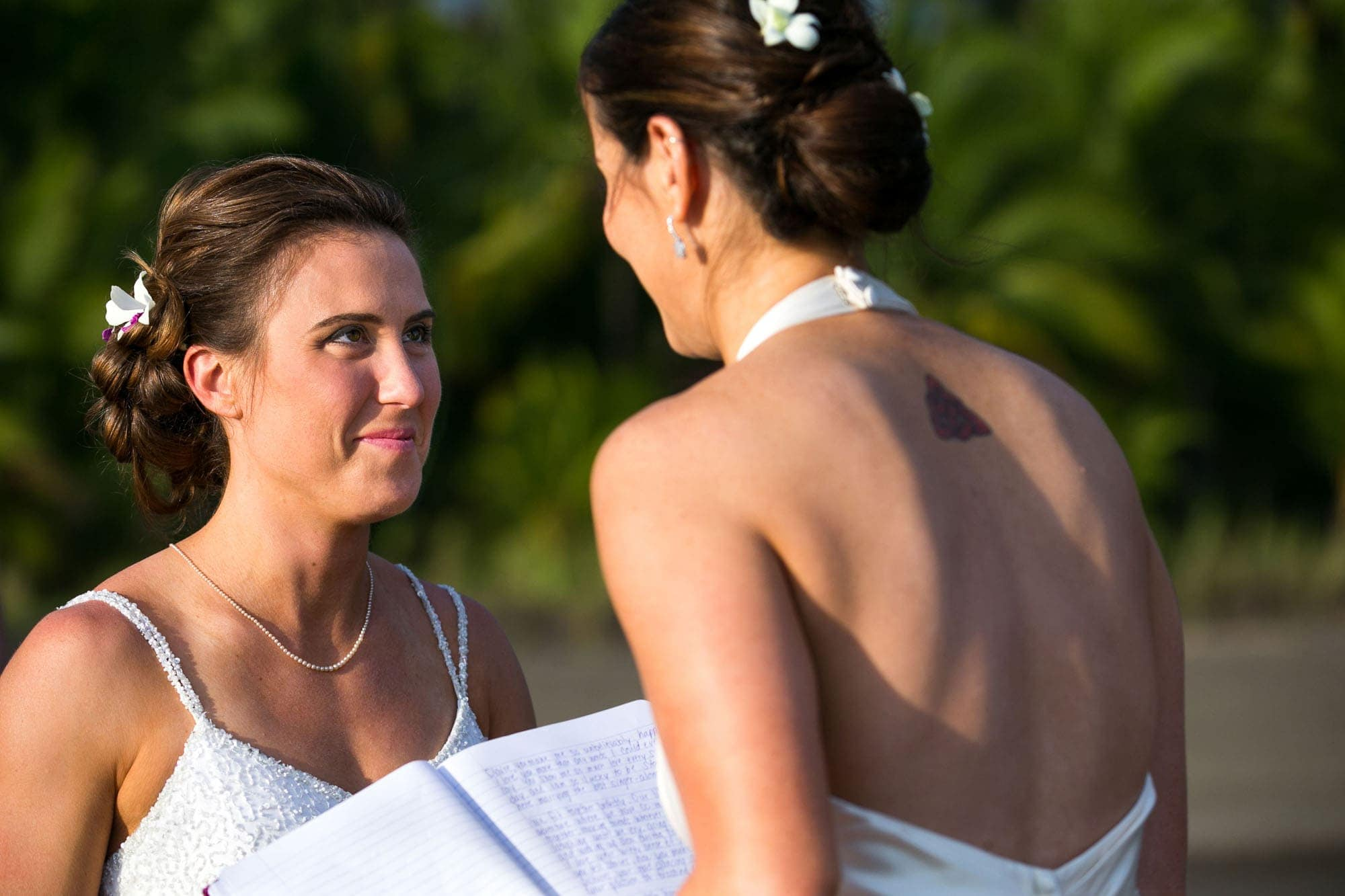 lesbian wedding ceremony in costa rica