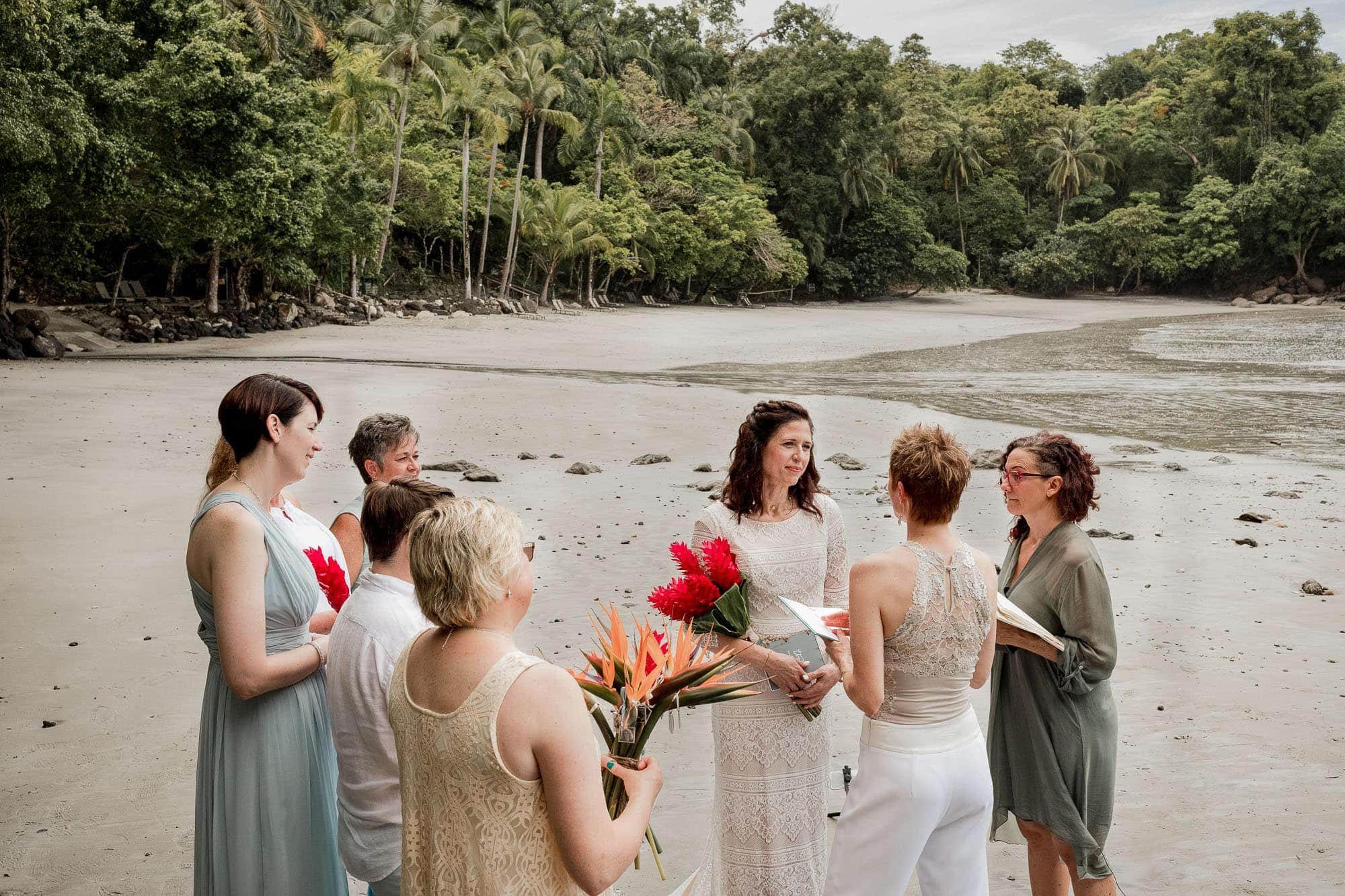 wedding at tulemar costa rica