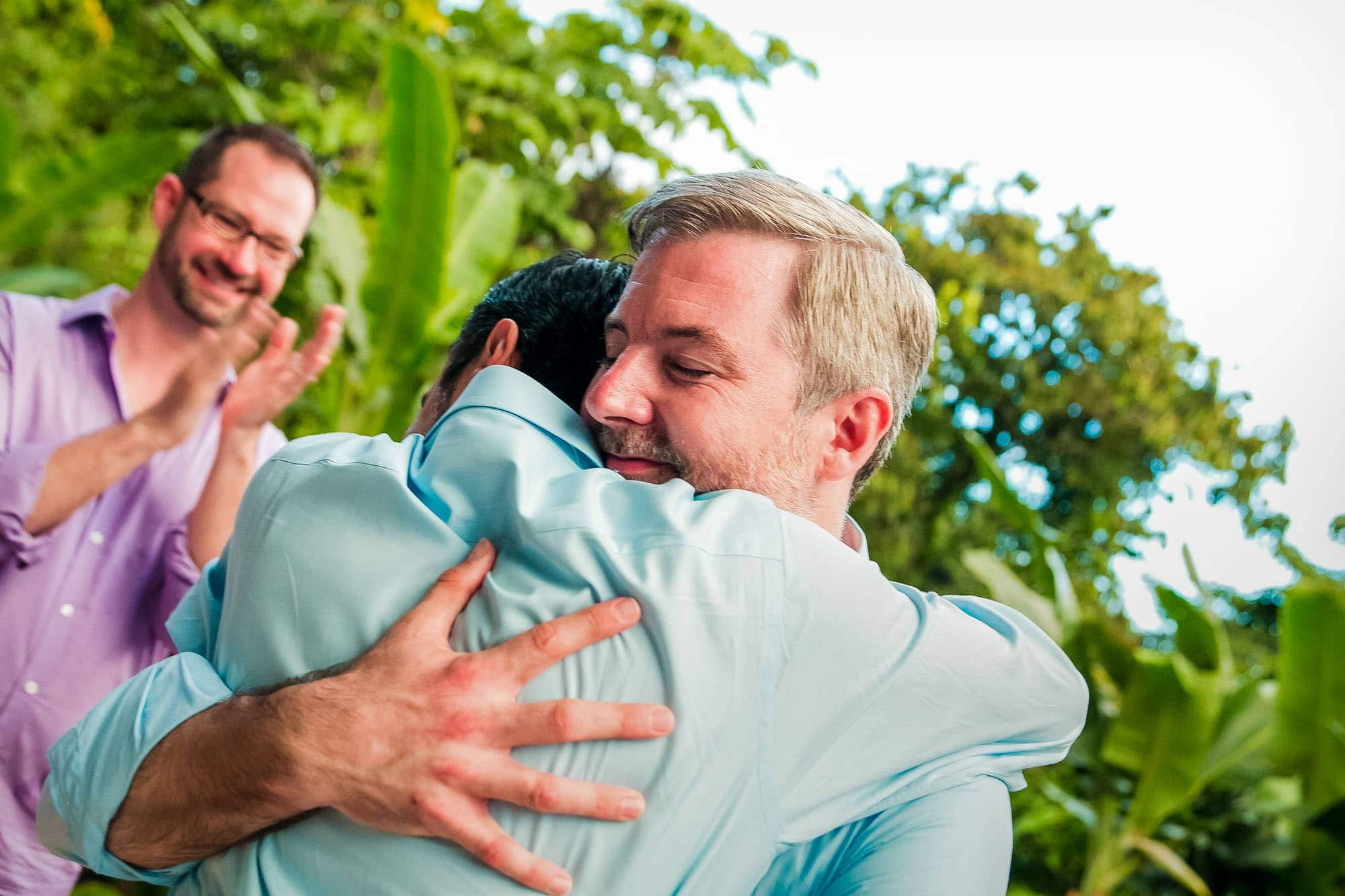 gay wedding ceremony in manuel antonio