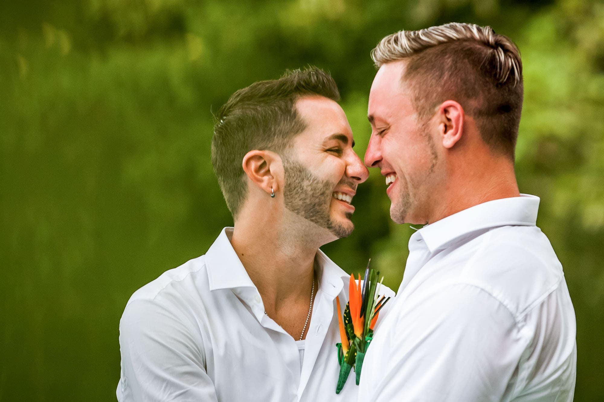 gay wedding at shana hotel