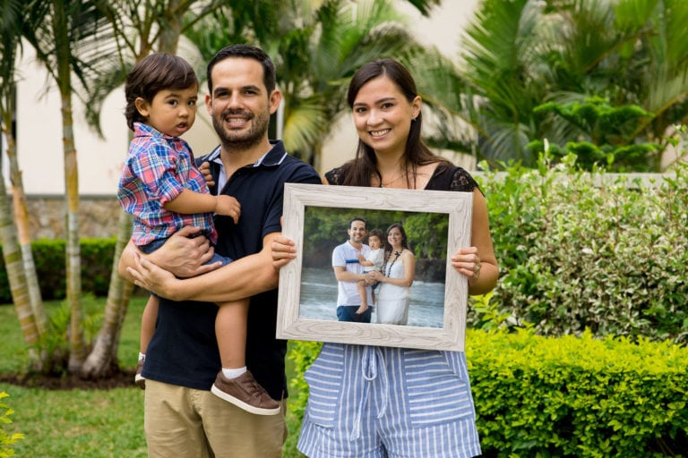 framed prints family portrait session