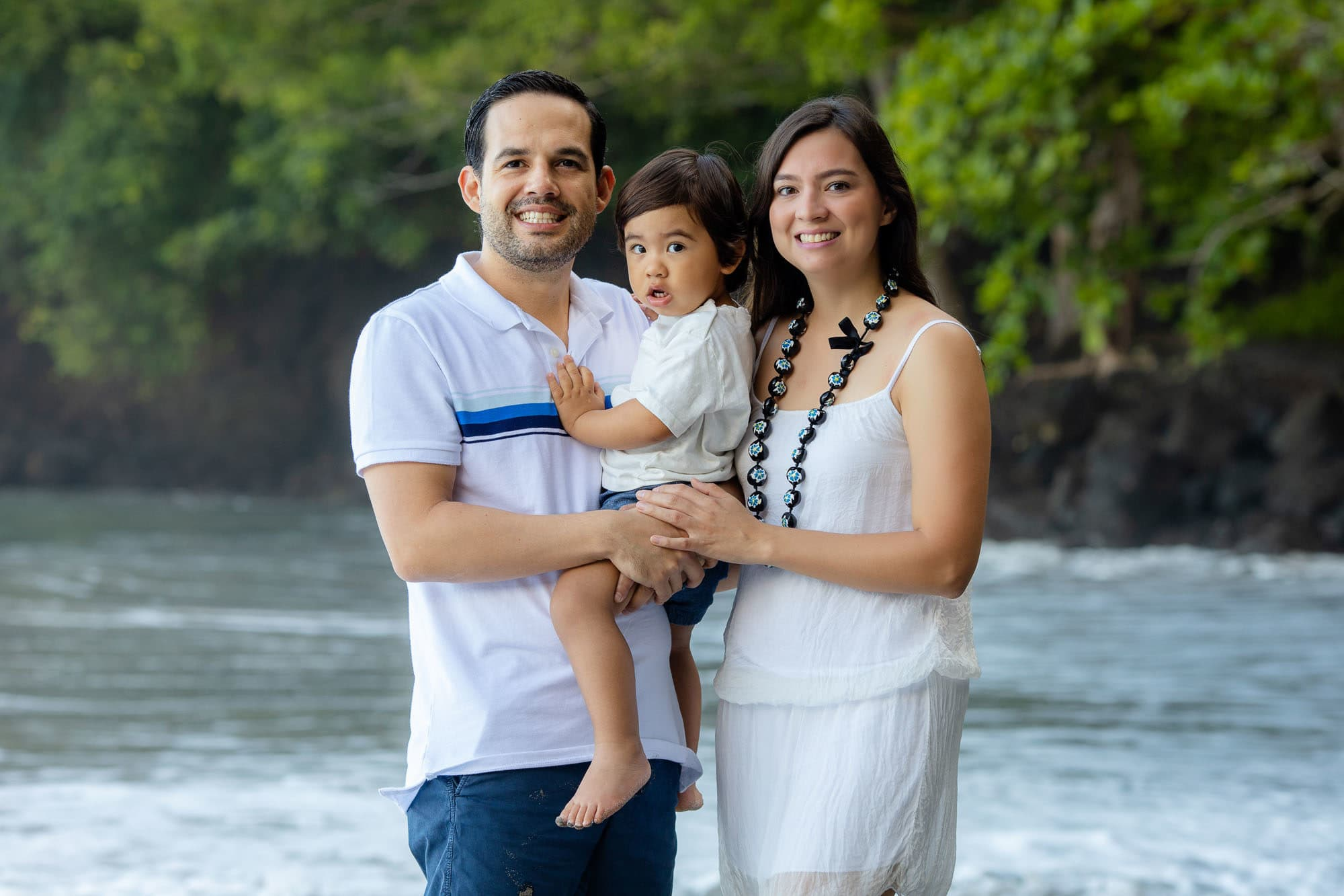 costa rica family portraits