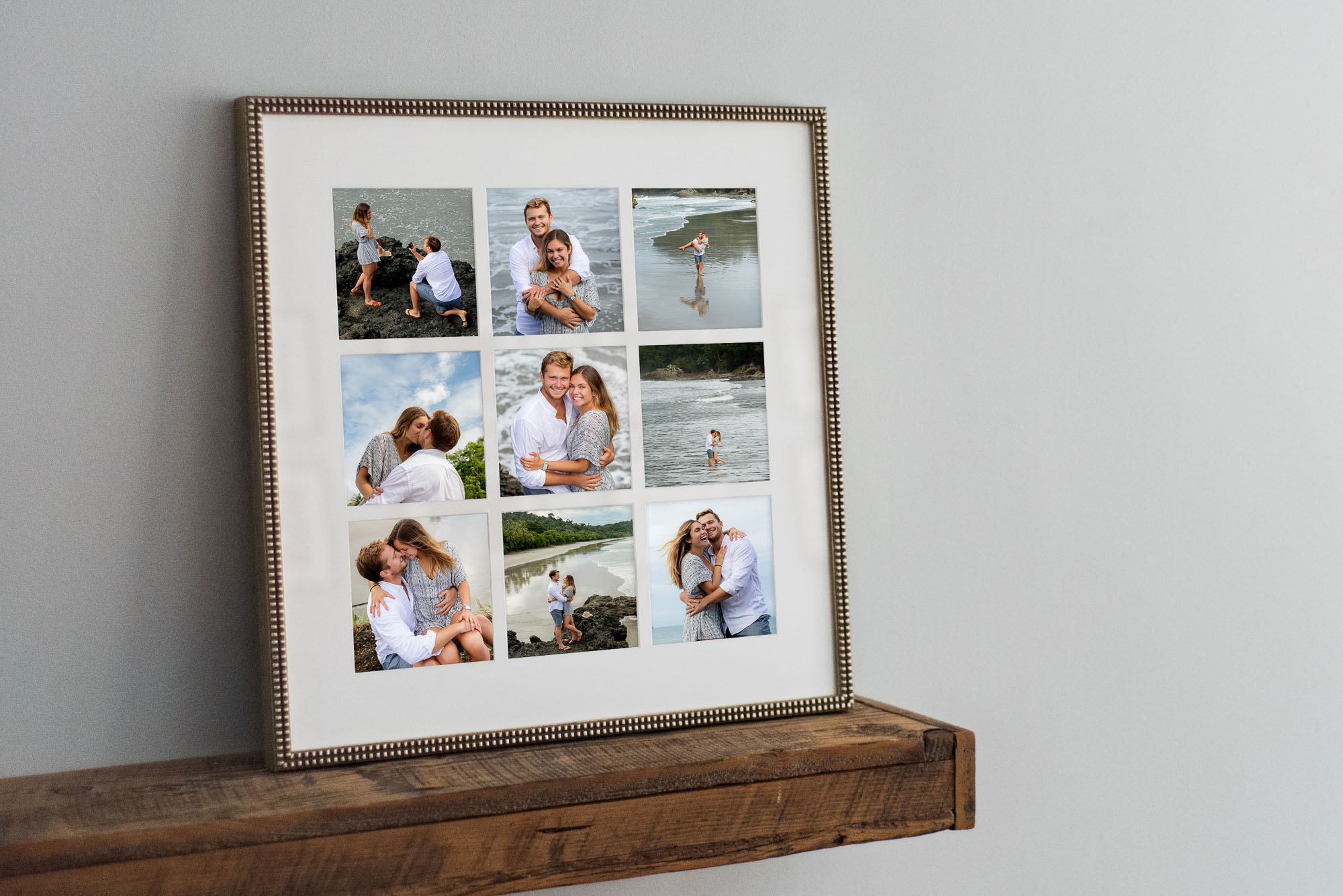 framed photo from portrait session
