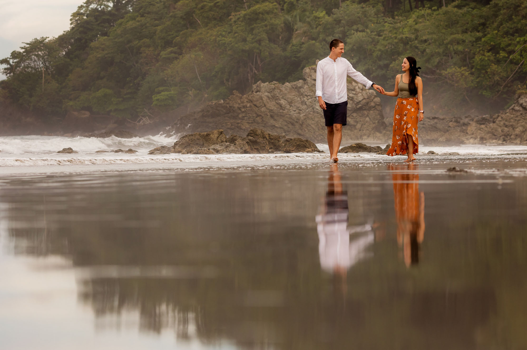 engagement session in costa rica