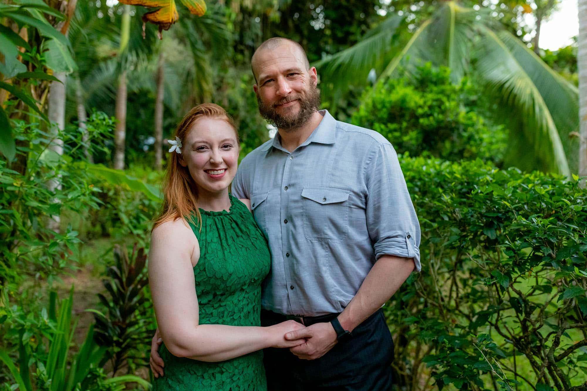 guests at a wedding at doce lunas