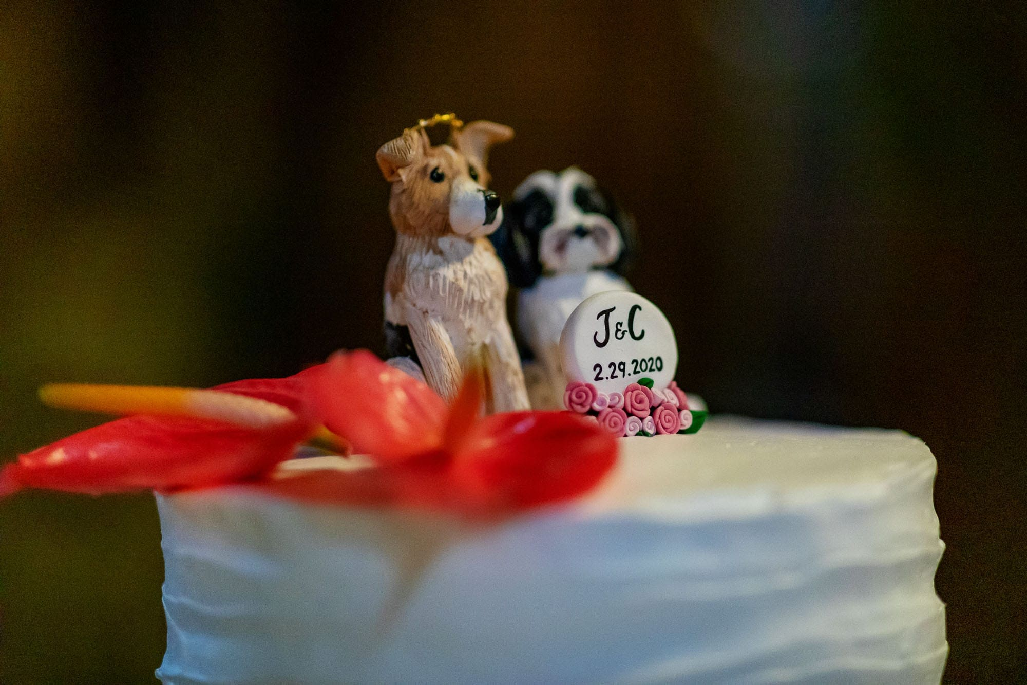 doggy cake toppers