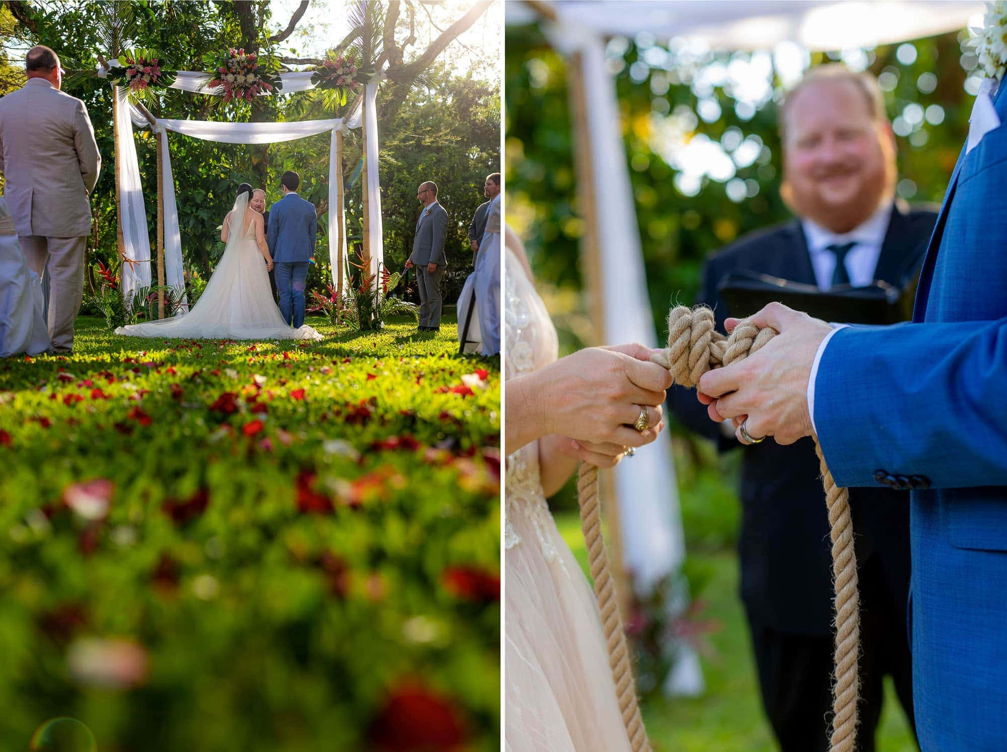 tying the knot at doce lunas
